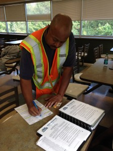 A Smithfield worker joining up with UFCW Local 400